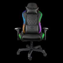 DELTACO GAMING gamingstol med RGB belysning