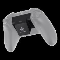 DELTACo GAMING trådlös Qi-receiver med inbyggt batteri till Xbox one k