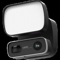 Всепогодный прожектор IP-камера, 1080p, светодиодный прожектор, черный