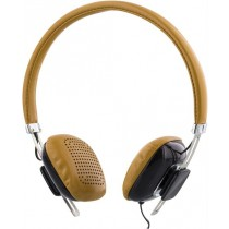 Headphones STREETZ, with microphone, brown/black/ HL-260