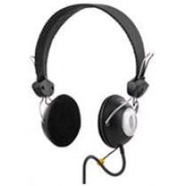 Headphone DELTACO with microphone, black / HL-30