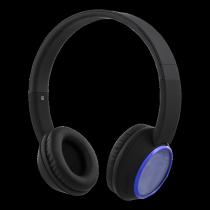 Наушники STREETZ, bluetooth, черно-синие / HL-346