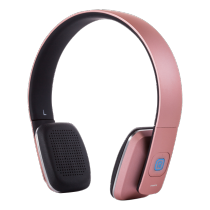 Headphones STREETZ Bluetooth, pink / HL-579