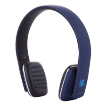 Headphones STREETZ Bluetooth, blue / HL-580