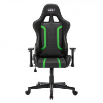 Gaming chair L33T GAMING ENERGY (PU) - Green / 160364