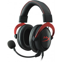 Headphone KINGSTON 15-25000Hz, USB, black / KING-1830