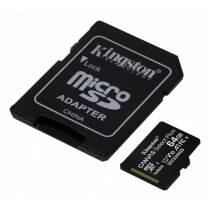 Kingston 64GB micSDXC Canvas Select Plus 100R A1 C10 Card + ADP