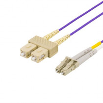 Cable DELTACO, purple / LCSC-702