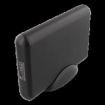 DELTACO USB-C HDD / SDD корпус, 2,5 / 3,5 дюйма, USB 3.1, 10 Гбит / с, черный