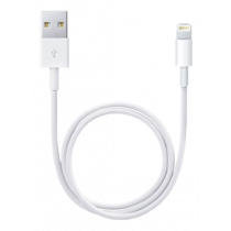 Apple Lightning cable, 0.5m, bulk, whit ME291ZM/A-BULK