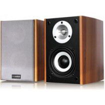 Microlab B-73, 20W RMS, 35-20000 Hz, 77dB, wood veneer / black 74462 / MLAB-105