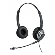 Headset Mairdi with microphone, 2.5m cable, USB, black / MRD-805D