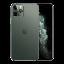 """Apple iPhone 11 Pro - Dual SIM - 4G - 256 GB - 5.8 """"- 2436 x 1125 (458 ppi) - Super Retina XDR Display (12 MP front camera) - midnight green / MWCC2QN/A"""