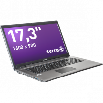 "Notebook Terra 17.3"", 4GB, black / NL1220519"