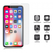 PAVO SCREEN tempered glass for Apple iPhone X, 9H, rep-resistant, anti-fingerprint, transparent / PAVO-100