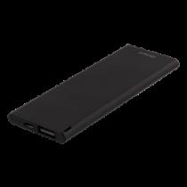 DELTACO Slim pocket size Powerbank, 3600 mAh, 7mm, 2.1A, USB-A, black / PB-3600B