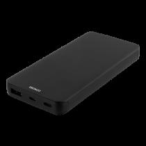 DELTACO 10.000 mAh Li-Po Power Bank with USB-C, black / PB-830