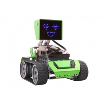 Programmable robot RoboBloq 174 parts, control with phone, green / Qoopers