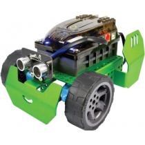 Programmable robot RoboBloq control with the phone, green / QScout