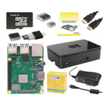 CanaKit Starter Kit, Raspberry Pi 3 B +, чехол, MicroSD, питание, HDMI и т. Д.