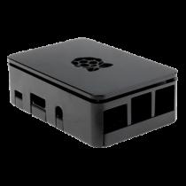 Case DesignSpark Raspberry for Pi 3 B/B+/2B, black / RPI-BOX30
