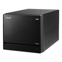 Computer Shuttle XPC Barebone Intel 270, 500W PSU, black, PC-SZ270R811 / SZ270R8