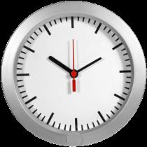 Video wall clock Technaxx HD, 1289x720, white / TECH-006