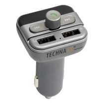Technaxx FMT900BT, FM transmitter and hands-free for car / truck, gray TEC-4594 / FMT900BT