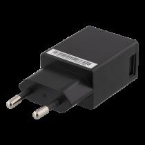 Wall charger DELTACO 100-240V to 5V USB, 1A, 1xUSB, black / USB-AC83