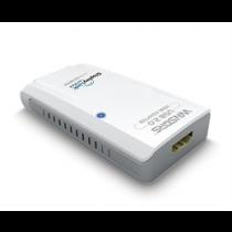 Адаптер USB 2.0 к HDMI, дополнительная видеокарта, со звуком, 1080p, черный
