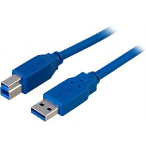 Cable DELTACO USB 3.0, 2m, blue / USB3-120