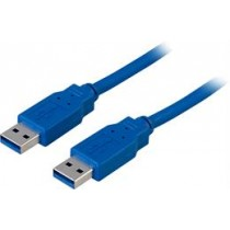 "Cable DELTACO USB 3.0 ""A-A"", 1m Blue USB3-210"