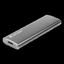 SSD Verbatim Vx500 120GB, external, USB 3.1, Gen 2, space gray / V47441