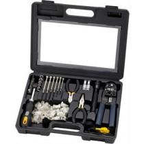 Tool Kit, Deltaco Sprotek STK-985, black / VK-257