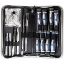 Complete tool kit for smartphones and other devices, 18 parts  DELTACOIMP / VK-48